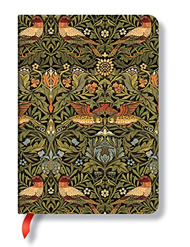 9780857577269: William Morris Birds Midi Journal (Paperblanks)