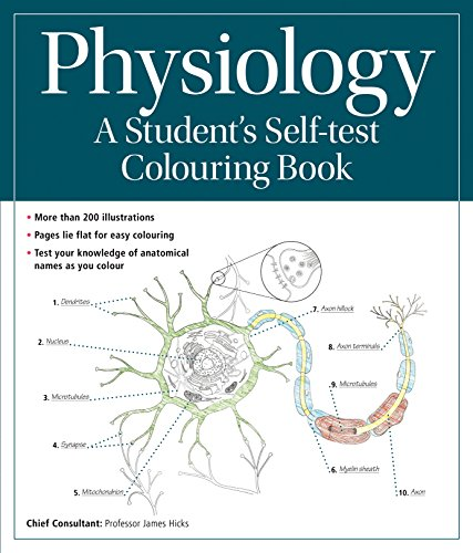 9780857624628 Physiology A Student S Self Test Colouring Book