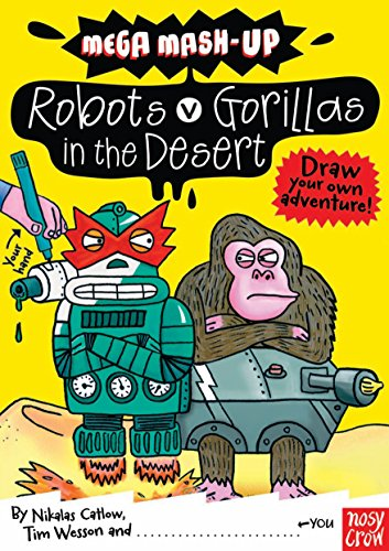 9780857630087: Mega Mash-Up: Robots v Gorillas in the Desert (Mega Mash-Up series)