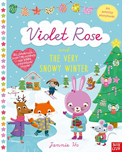 9780857634047: Violet Rose and the Very Snowy Winter Sticker Activity Book