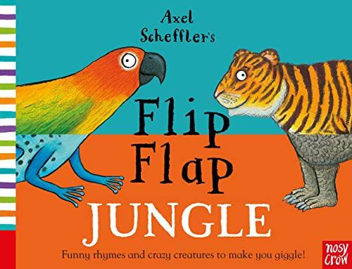 9780857634108: Axel Scheffler's Flip Flap Jungle (Axel Scheffler's Flip Flap Series)
