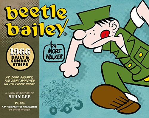 Beetle Bailey 1966: Daily and Sunday Strips