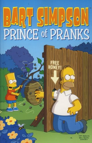 9780857681492: Bart Simpson: Prince of Pranks