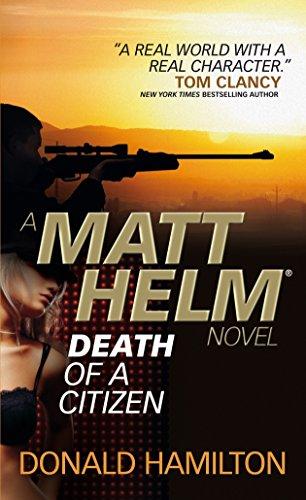 9780857683342: Matt Helm - Death of a Citizen