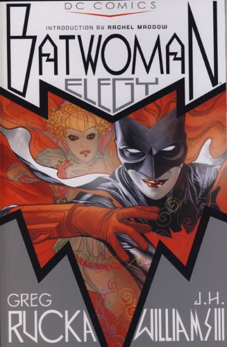 9780857684295: Batwoman Elegy. Greg Rucka, Writer