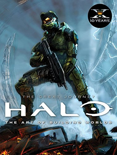 9780857685629: Halo: The Great Journey...The Art of Building Worlds