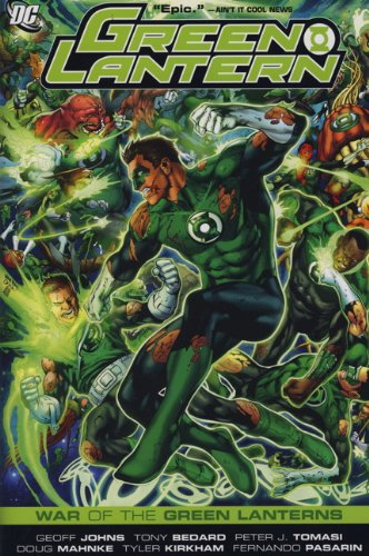 9780857688484: War of the Green Lanterns. Writers, Geoff Johns, Peter J. Tomasi