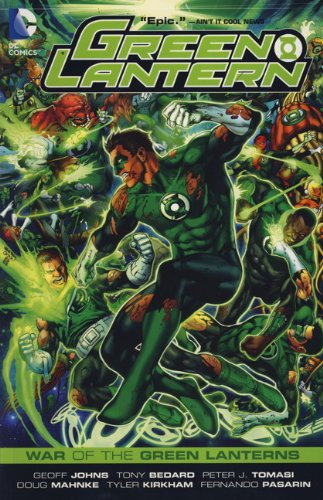 9780857688491: Green Lantern: War of the Green Lanterns