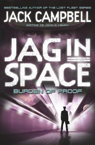 9780857689412: JAG in Space - Burden of Proof (Book 2)
