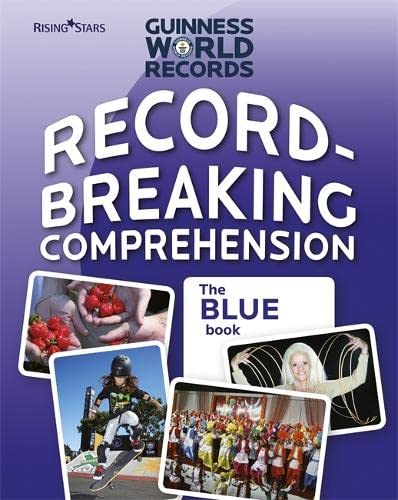 9780857695659: Record Breaking Comprehension Blue Book (Guinness Record Breaking Comp)