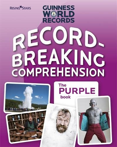 9780857695666: Record Breaking Comprehension Purple Book (Guinness Record Breaking Comp)