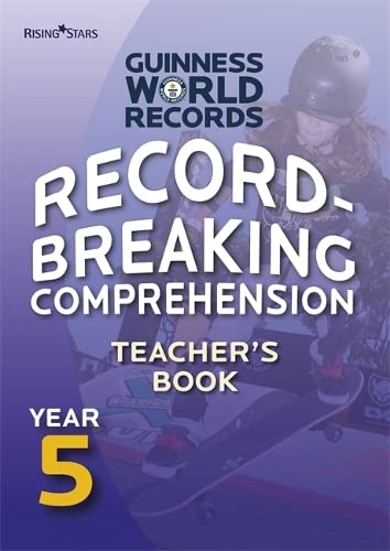 9780857695697: Record Breaking Comprehension Year 5 Teacher's Book (Guinness Record Breaking Comp)