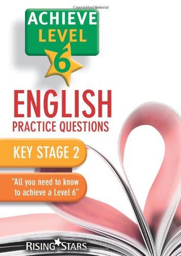 9780857696663: Achieve Level 6 English Practice Questions Pupil Book