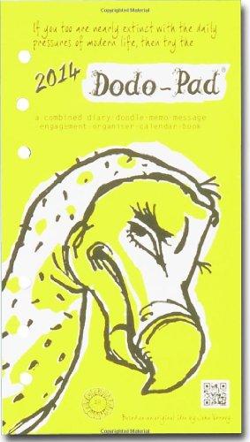 9780857700520: Dodo Pad Filofax-Compatible Pers Org Refill Diary 2014 - Cal