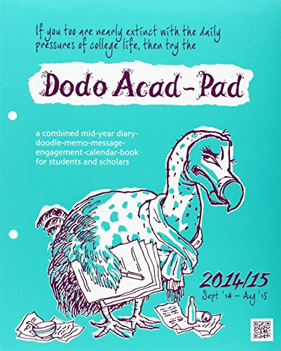 9780857700605: Dodo Acad-Pad Loose-Leaf Desk Diary 2014 - 2015 Week to View Academic Mid Year Diary: A Combined Mid-Year Diary-Doodle-Memo-Message-Engagement-Calendar-Book for Students and Scholars
