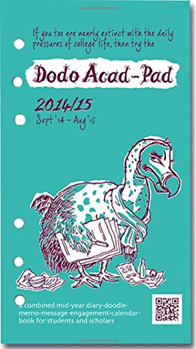 9780857700612: Dodo Acad-Pad Filofax-Compatible Personal Organiser Diary Refill 2014 - 2015 Week to View Academic Mid Year Diary: A Combined Mid-Year ... for Students and Scholars