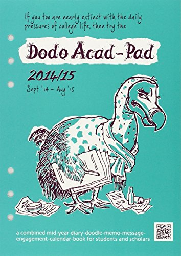 9780857700629: Dodo Acad-Pad Filofax-Compatible A5 Diary Refill 2014 - 2015 Week to View Academic Mid Year Diary: A Combined Mid-Year Diary-Doodle-Memo-Message-Engagement-Calendar-Book for Students and Scholars