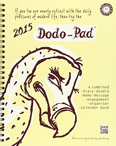 9780857700650: Dodo Pad Desk Diary 2015 - Calendar Year Week to View Diary