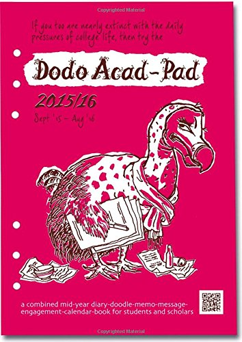 9780857700896: Dodo Acad-Pad Filofax-Compatible A5 Diary Refill 2015 - 2016 Week to View Academic Mid Year Diary: A Combined Mid-Year ... for Students, Teachers and Scholars