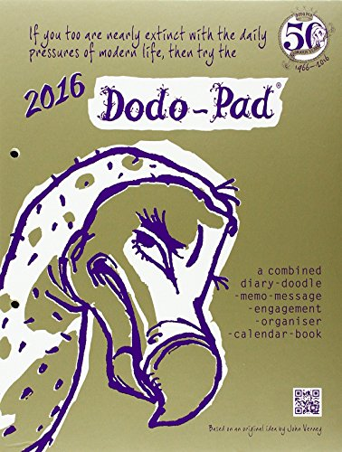 9780857700957: Dodo Pad Loose-Leaf Desk Diary 2016 - Week to View Calendar Year Diary: A Combined Family Diary-Doodle-Memo-Message-Engagement-Organiser-Calendar-Book