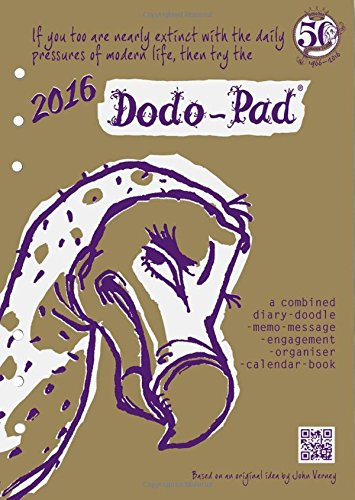 9780857700971: Dodo Pad Filofax-Compatible 2016 A5 Refill Diary - Week to View Calendar Year: A Combined Family Diary-Doodle-Memo-Message-Engagement-Organiser-Calendar-Book