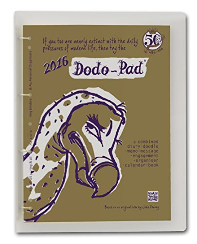 9780857700995: Dodo Pad A4 Universal Diary 2016 c/w Binder - Week to View Calendar Year: A Combined Family Diary-Doodle-Memo-Message-Engagement-Organiser-Calendar-Book
