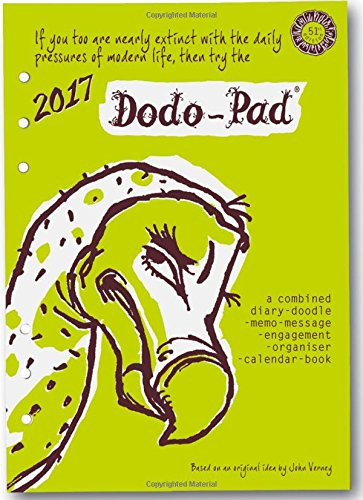 9780857701183: Dodo Pad Filofax-Compatible 2017 A5 Refill Diary - Week to View Calendar Year: A Combined Family Diary-Doodle-Memo-Message-Engagement-Organiser with Room for Up to 5 People's Appointments/Activities