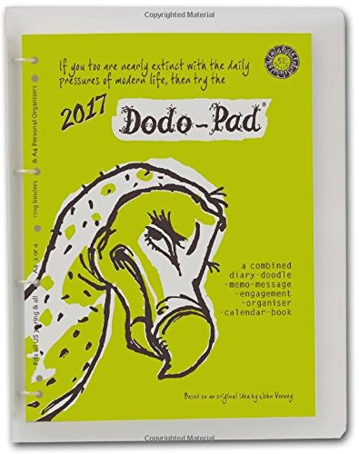 9780857701206: Dodo Pad A4 Diary 2017 c/w 4 Ring Binder - Week to View Calendar Year: A Family Diary-Doodle-Memo-Message-Engagement-Organiser-Calendar-Book with Room for Up to 5 People's Appointments/Activities