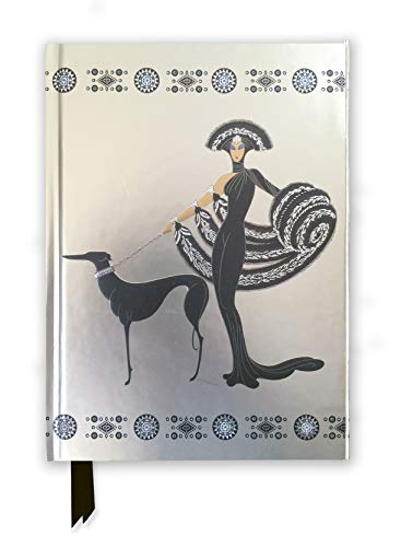 Erté Symphony in Black (Foiled Journal) (Flame Tree Notebooks)