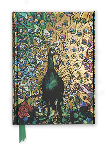 9780857751171: Tiffany: Displaying Peacock (Foiled Journal) (Flame Tree Notebooks)
