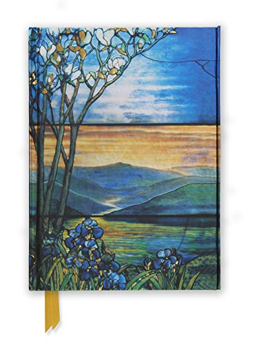 9780857753809: Tiffany Leaded Landscape with Magnolia Tree (Foiled Journal) (Flame Tree Notebooks)