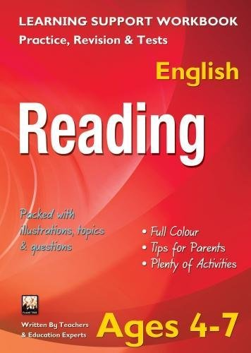 Reading, Ages 4-7 (English): Home Learning, Support for the Curriculum (Home Learning English Age 4...