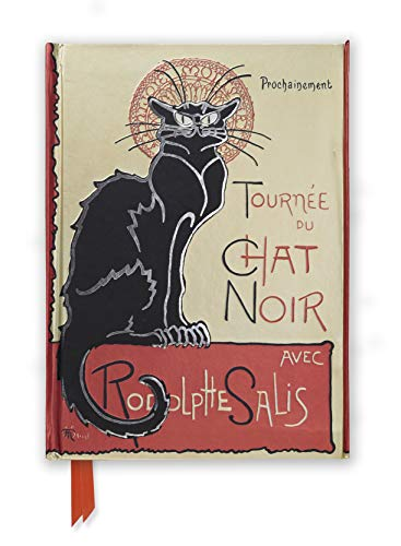9780857756640: Steinlen Tournee Du Chat Noir (Foiled Journal) (Flame Tree Notebooks)