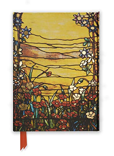 9780857756657: Tiffany Red Flowers and a Stream (Foiled Journal) (Flame Tree Notebooks)