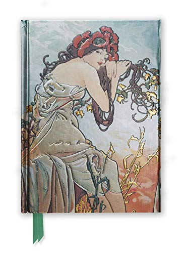 9780857756664: Mucha: Summer (Foiled Journal) (Flame Tree Notebooks)