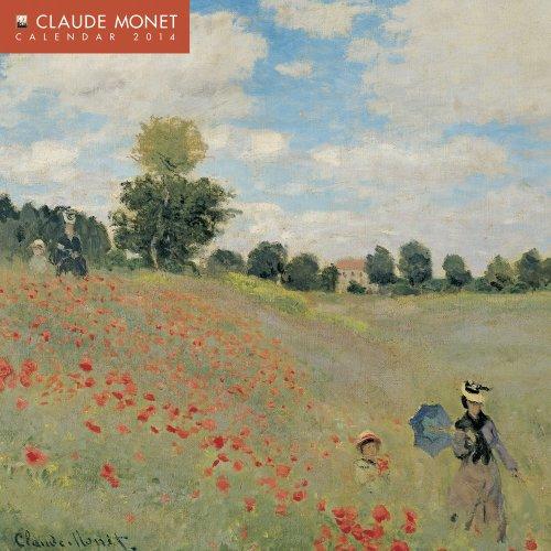 9780857757616: Claude Monet mini wall calendar 2014
