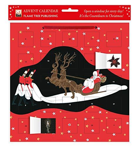9780857757838: Entrance of Santa Claus Advent Calendar (Falme Tree Calendars 2015)