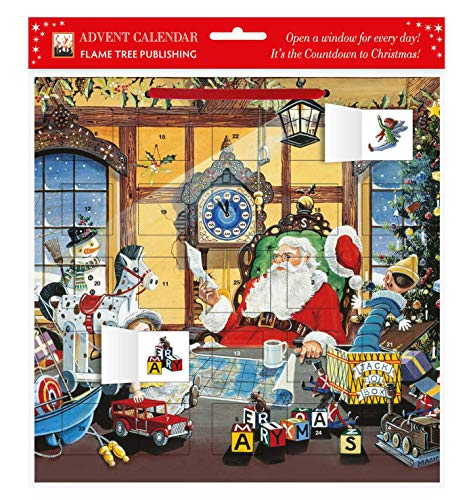 9780857757852: Letter to Santa Advent Calendar (with Stickers) (Flame Tree Calendars 2015)
