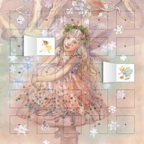 9780857757869: Snow Fairy Advent Calendar (with Stickers)