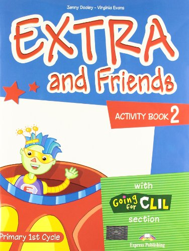 9780857772527: Extra & Friends: Primary 1st Cycle Activity Pack (Spain) Level 2
