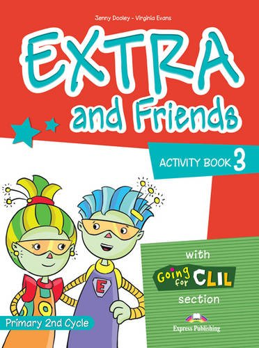 9780857772626: Extra & Friends: Primary 2nd Cycle Level 3