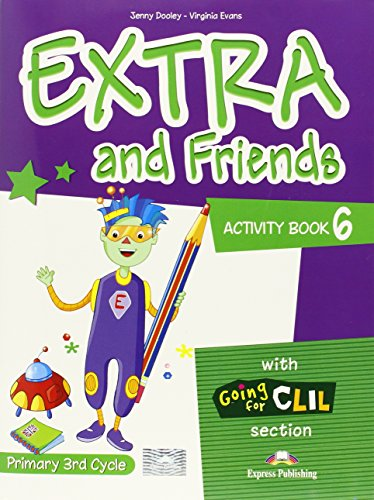 9780857772732: Extra & Friends: Primary 3rd Cycle Activity Pack (Spain) Level 6