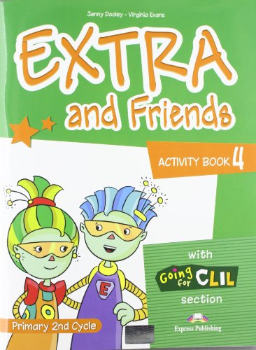 9780857772749: Extra & Friends: Primary 2nd Cycle Activity Pack (Spain) Level 4
