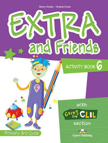 9780857772862: Extra & Friends: Primary 3rd Cycle Activity Pack (Spain) Level 6