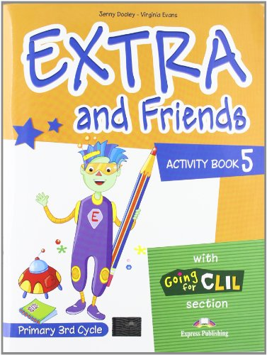 9780857772879: Extra & Friends: Primary 3rd Cycle Activity Pack (Spain) Level 5
