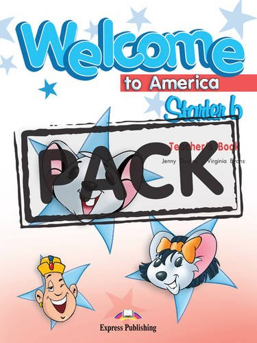 9780857773678: Welcome to America Starter: Pupil's Pack with Dvd Pal (international) Pack B