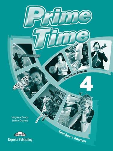 9780857774385: Prime Time: Teacher's Book (US) Level 4