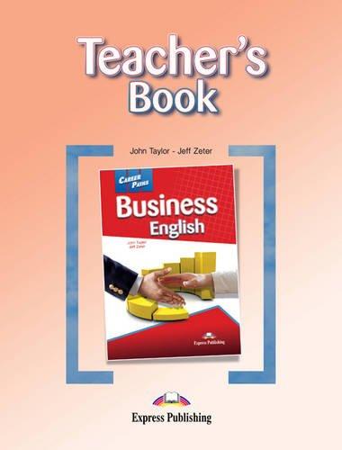 9780857777492: Career Paths - Business English: Teacher's Book (International)