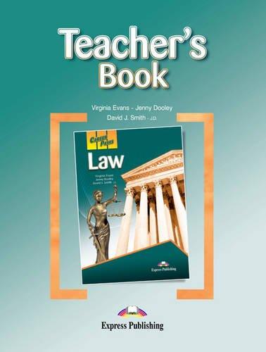 9780857778178: Career Paths - Law: Teacher's Book (International)