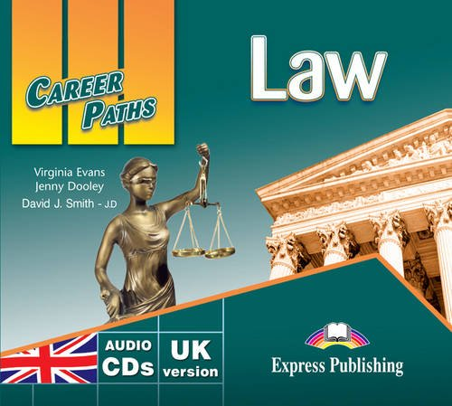 9780857778185: Career Paths - Law: Class CDs - UK Version (International)